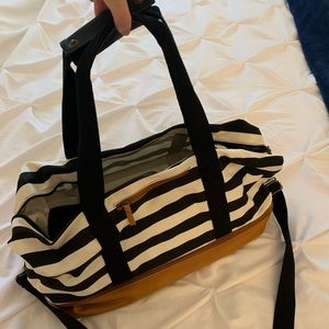 Travel Duffel Bag with Shoe Compartment